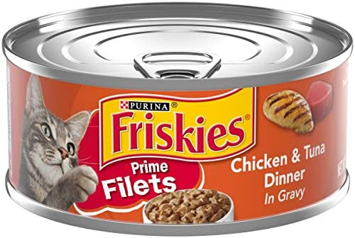 Purina Friskies Prime Filets Wet Cat Food – 24 5.5 oz. Cans