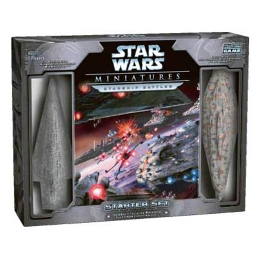 Wizards of the Coast Star Wars Miniatures Starship Battles Starter Set from Wizards of the Coast