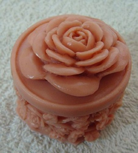 4.6x4.6x5cm Rose Zx379 Silicone Handmade Candle Mold Craft DIY Mold