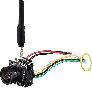 Opinión sobre EACHINE TX06 700TVL FOV 120 Grados 5.8 GHz 48CH Smart Audio Mini FPV Soporte de cámara Pitmode Transmisor AIO para RC Drone Racing - PAL