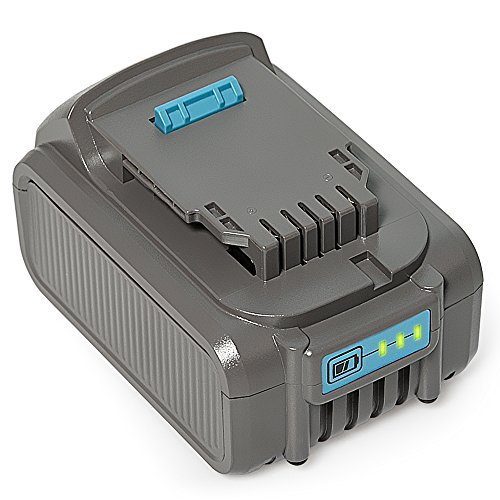 RSTECH Upgraded 20V MAX 5.0Ah Lithium Li-ion Battery for Dewalt Max XR DCB204 DCB205 DCB205-2 DCB200 DCB180 DCD985B DCD771C2 DCS355D1 DCD790B High Capacity Cordless Power Tools (1 Pack) (Backup Volt Battery)