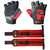 Weight Lifting Gloves (1 Pair), Weightlifting Wrist...