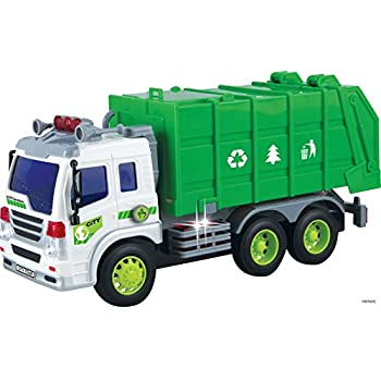 Well-known Amazon.com: FUNERICA™ Garbage Truck Toy with Sound Effects  QT75