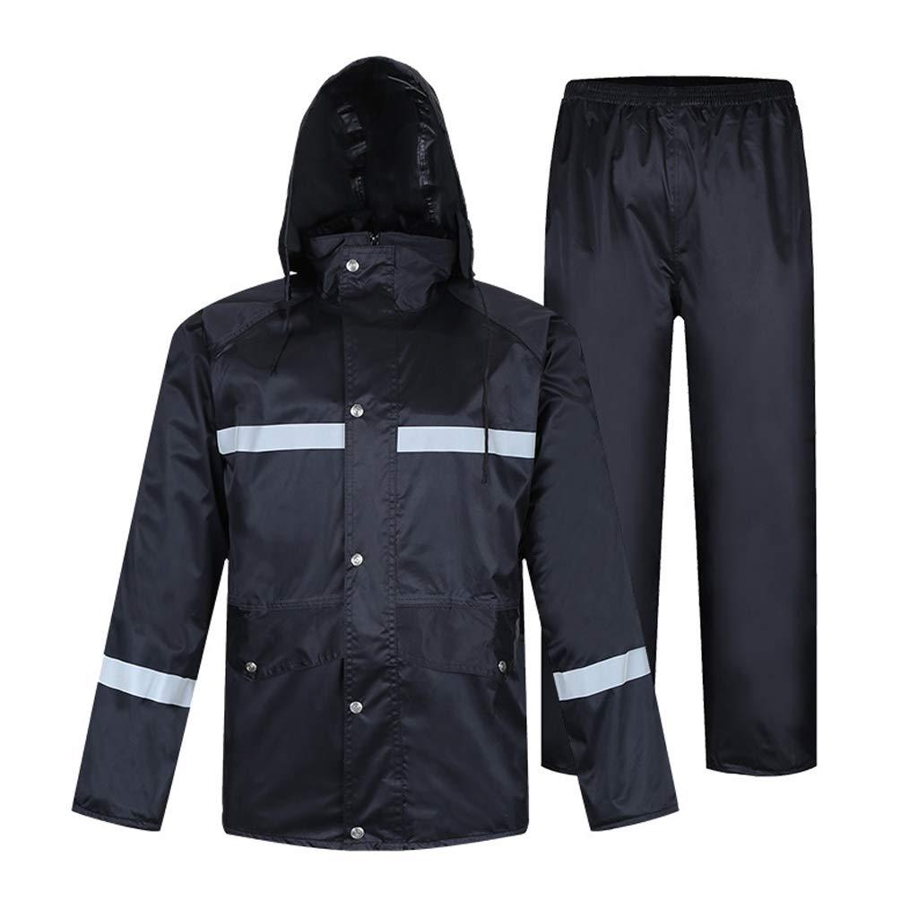 Angeln Regenmantel Herren Split Regenbekleidung Hosenanzug Atmungsaktive Jacke Damen wasserdichte Sportbekleidung für Motorrad Outdoor Camping Laufen Ski