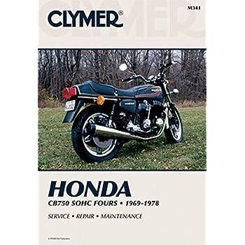Amazon com: Clymer m337 manual hon cb750 dohc (M337): Ed Scott