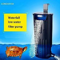 LONDAFISH Filtre Submersible d'eau de Filtre de Tortue de Mute pour la Filtration de réservoir de Tortue/Aquarium 600L / H