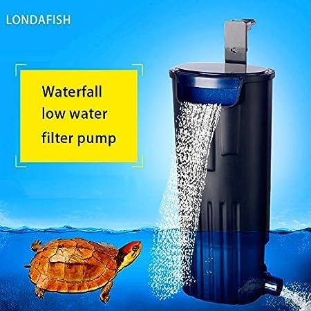 LONDAFISH Filtro Sumergible Mudo del Agua del Filtro de la Tortuga para la filtración del Tanque/del Acuario 600L / H de la Tortuga: Amazon.es: Productos ...