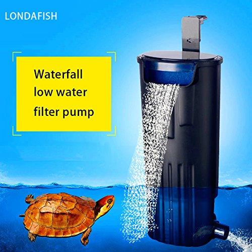 LONDAFISH Turtle Filter Water Submersible Filter for Turtle Tank/Aquarium 600L/H