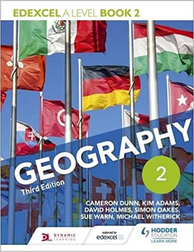 Edexcel A Level Geography Book 2 Third Edition Paperback 28 Oct 2016