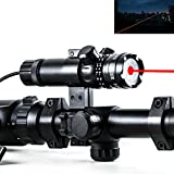 IORMAN-Original-532nm-Military-Red-Laser-Optics-Dot-Sight-with-Scope-Ring-Mounts-for-Sighting
