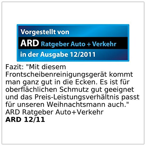 4er-Set Scheibenwunder Windschutzscheiben-Wunder mit Gelenk-Kopf /& Pump-Spr/ühflasche PEARL Scheibenreiniger
