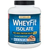 Fitness Labs WheyFit Isolate – 100% Whey Protein Isolate (5 Pounds, Dutch Chocolate) For Sale