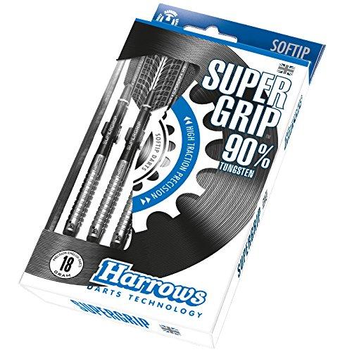 Harrows Super Grip Softdart 90% Tungsten Dardos 7385