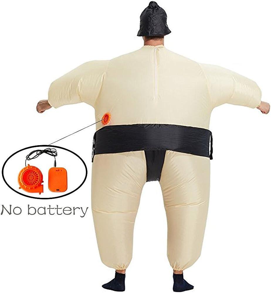 Amazon.com: Kn Halloween trajes de sumo inflable Niños Ropa ...