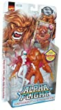 Marvel Comics 1999 Collector Edition 2 Pack Alpha Flight Action Figure - Sasquatch (6') and Vindicator (5') Plus Bonus of Exclusive Motion Card