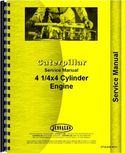 Caterpillar 10 Engine D4 Engine Service Manual (CT-S-41/4 4CYL) pdf epub