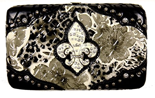 Decorated Frame Wallet - 7