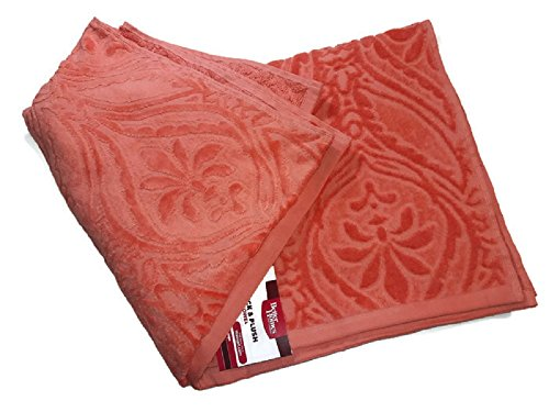 Thick and Plush Better Homes Bath Towel , Coral , 100% Cotto