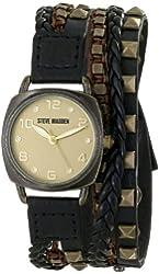 Steve Madden Women's SMW00074-01 Analog Display Quartz Brown Watch