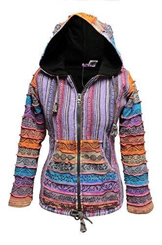 Shopoholic Fashion Arcoiris Con Mangas forro polar mujer ...