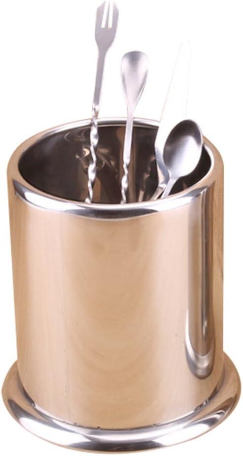 kentop escurridor para cubiertos de acero inoxidable para utensilios de cocina escurridor para cubiertos diámetro Inox material acero inoxidable, 15 * 13 * 16.5 cm (2 piezas): Amazon.es: Hogar