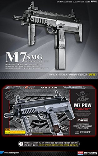Amazon com: Academy M7 SMG SEMI AUTOMATIC ELECTRIC Gun BB