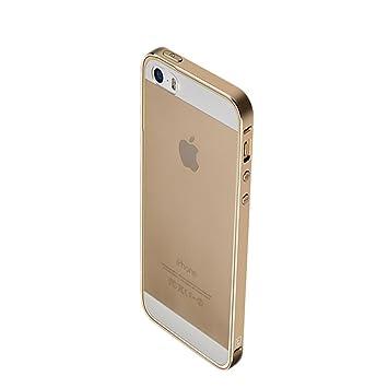 4785882522 iPhoneSE ケース アルミ バンパー クリア 背面カバー付き かっこいい スリム 軽量 アイフォンSE メタルサイドバンパー