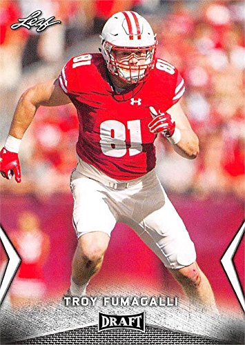 cheap for discount 1edef ced88 Troy Fumagalli Football Card (Wisconsin Badgers, Denver ...