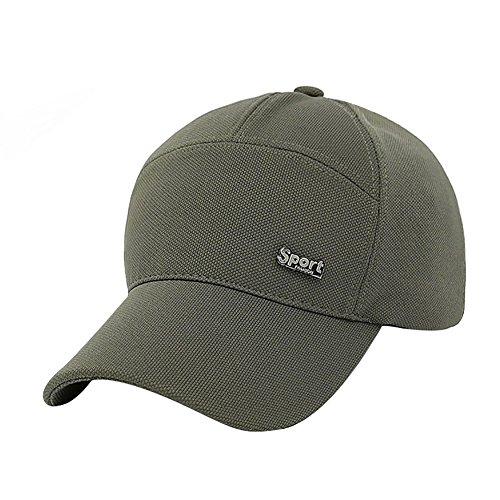 de Sombrero del Solar de Beisbol Proteccion Hombres ejército Respirable Gorra Papá Lamdgbway Verde 0APqExwUY
