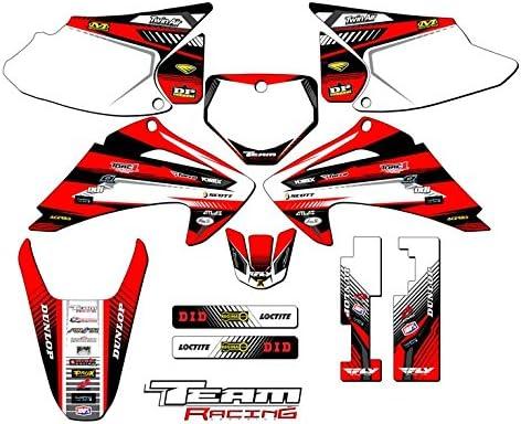 Team Racing Graphics kit compatible with Honda 2003-2007 CRF 150F//230F ANALOG