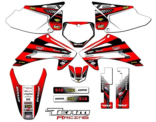 Team Racing Graphics kit for 2003-2007 Honda CRF 150F/230F, ANALOG