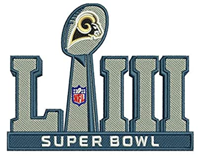 Elusive Dream Marketing Services 2019 RAMS Patch Super Bowl 53 LIII  Football Los Angeles