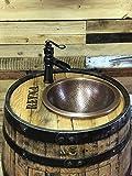 Personalised Whiskey Barrel Vanity
