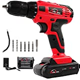 20V Electric Cordless Drill – 3/8″ Keyless Chuck, Lightweight Cordless Drill,Rechargeable Lithium-Ion battery Drill/Driver,Durable&Fast Application Speeds Dirll kit by AUTOJARE Review