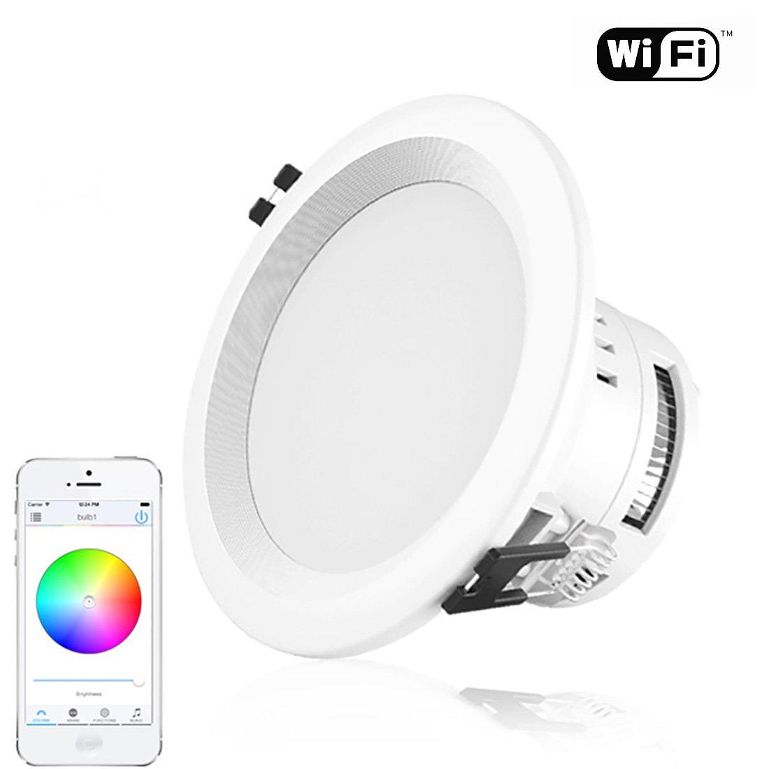 Smart Bluetooth Music Downlight Music Ceiling Light Tube Light ...