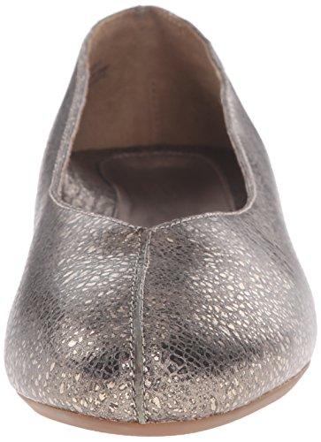 Aetrex Damesschoen Ballet Plat Metallic