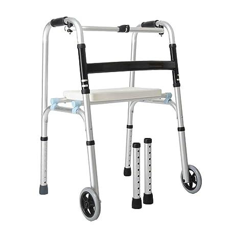 Yxsd andador Anciano discapacitado, con Cuatro Patas, Ligero ...