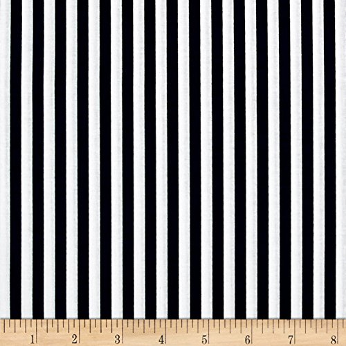 Riley Blake 1/4in Stripes Navy Fabric By The Yard