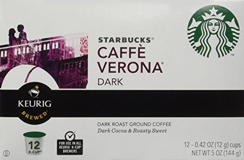 Starbucks Caffe Verona, K-Cup Portion Pack for Keurig K-Cup Brewers, 24 K-Cups (Pack of 2) by Starbucks (Image #1)