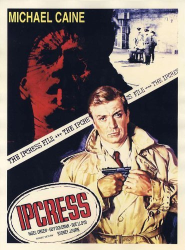 iPosters Ipcress File Michale Caine Movie Poster Print - Approx 40 X 30 Cms (15.5 X 11.5 Inches) ()