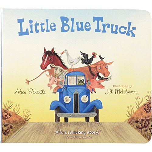 Value Book Truck - Constructive Playthings HB-037 Little Blue Truck Board Book, Grade: kindergarten to 3 years, 7.55
