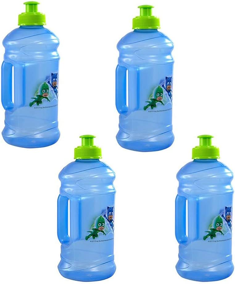PJ Masks Red Pull Top 16oz Plastic Sport Water Bottle