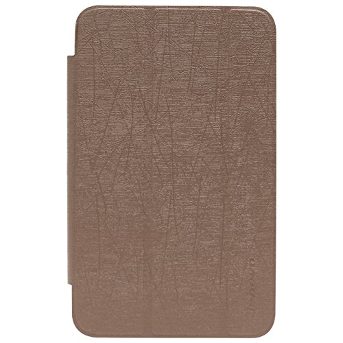 DMG Premium Tri Fold Stand Book Cover Case for Lenovo IdeaTab A1000  Brown