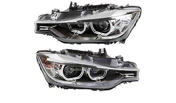 Amazon com: Pair New Hella Headlight Assembly For BMW 320i 328i 328d