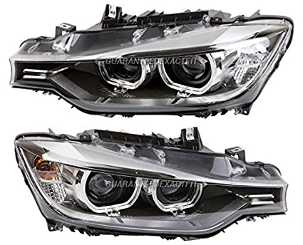 Amazon com: Pair New Hella Headlight Assembly For BMW 320i 328i 328d