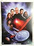 Star Trek: The Next Generation TNG Lithograph: Patrick Stewart & the Whole Cast by Keith Birdsong 12 x 16 Poster