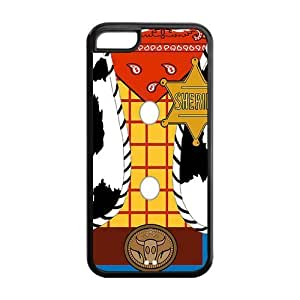 Sheriff Woody's Jacket Protective Rubber Cell Cover Case for iPhone 4s,4s Phone Cases