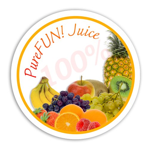 PureFUN! Apple Flavored 100% Juice Blend Concentrate- FULL CASE Blend Concentrate