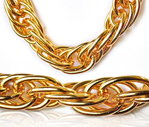 Best Fake Gold Chains Costume Bulk January 2020 ★ Top