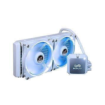 kkmoon soplay CPU enfriador líquido Congelador agua refrigeración ...